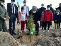 Ahi Çocuk Projesi Kapsamında Fidan Dikildi