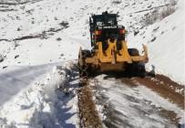 Batman'da Kar Nedeni İle Kapanan Köy Yolları Açılıyor