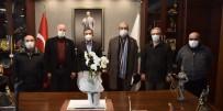 İki Şerefeli Veli Bey Camii Derneği'nden Ataç'a Ziyaret