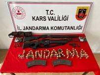 Kars'ta Jandarma Cinayet Silahlarını Ele Geçirdi