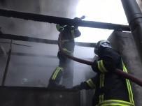 Keresteciler Sitesinde Yangın Ucuz Atlatıldı
