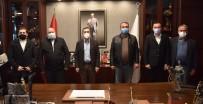 Mihalgazi Ve İnönü CHP'den Ataç'a Ziyaret