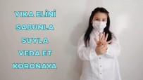 Minik Öğrencilerden İşaret Diliyle Pandemi Eğitimi