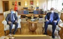 Başkan Ataç, Bakan Ersoy İle Görüştü