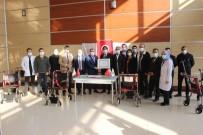 Cizre TSO'dan Devlet Hastanesine Tekerlekli Sandalye Bağışı