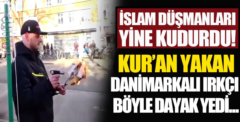Danimarka'da Kur'an-ı Kerim'e çirkin saldırı!