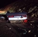 Kontrolden Çıkan Otomobil Takla Attı Açıklaması 1Ölü, 1 Yaralı