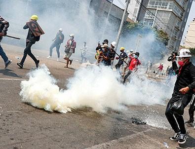 Myanmar'daki gösterilerde kanlı bilanço: 33 ölü!