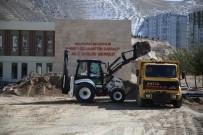 Tınaztepe Aile Sağlığı Merkezi Çevre Düzenlemesi Başladı