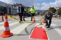 Amasya'da Yaya Geçitlerinde 'Kırmızı Çizgi' Dönemi Başladı