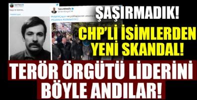 CHP'liler terörist örgütü lideri Çayan'ı andı!