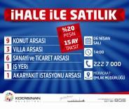 Kocasinan'dan Yüzde 20 Peşin, 15 Ay Taksitle Yatırım Fırsatı