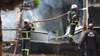 Ordu'daki Yangını Söndürme Çalışmaları Sürüyor