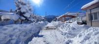 Tunceli'de Karla Kapanan Tüm Köy Yolları Açıldı
