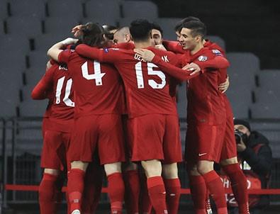 Türkiye Letonya maçında kazanan çıkmadı!