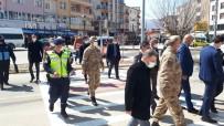 Tuzluca'da Yaya Geçitlerinde, Yayalara Öncelik İçin Farkındalık Etkinliği Gerçekleştirildi