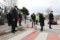 Vali Güner Kırmızı Çizgi İle Trafikte Yaya Önceliğine Dikkat Çekti