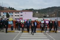 Yenice'de Yaya Geçitlerinde Kırmızı Çizgi Dönemi Başladı