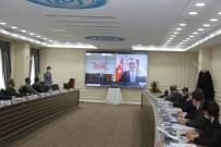 YÖK Başkanı Prof. Dr. Saraç, BEÜ Toplantısına Çevrimiçi Olarak Katıldı