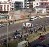 Yolun Karşısına Geçmek İsteyen Kadına Otomobil Çarptı