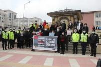 Yozgat'ta 'Yayalar Kırmızı Çizgimizdir' Etkinliği Düzenlendi