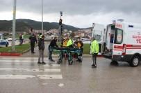 Çan'da Trafik Kazası Açıklaması 1 Yaralı