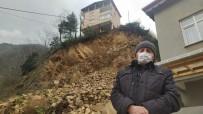 Rize'nin İkizdere İlçesinde Heyelana Maruz Kalan Evler Yıkılacak