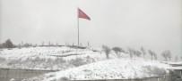 Seyitgazi'de Kar Var