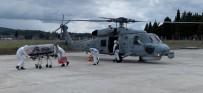 Solunum Yetmezliği Çeken Covid-19 Hastanesi Askeri Helikopterle Taşındı