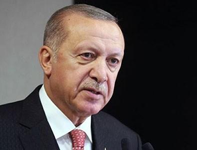 Başkan Erdoğan'dan şehitlerimiz için taziye mesajı!