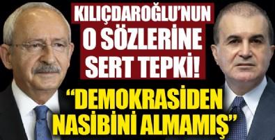 AK Parti Sözcüsü Ömer Çelik'ten 'Erdoğan bir milli güvenlik sorunudur' diyen Kılıçdaroğlu'na sert yanıt