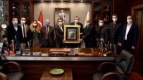 Sivrihisar Eğitim Vakfından Başkan Ataç'a Ziyaret