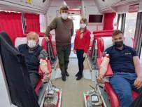 Günyüzü'nde Kan Bağışına Yoğun İlgi