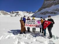 Kadın Dağcılar Bolkarlara Tırmandı