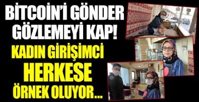 Kahramanmaraş'ta yaşayan kadın girişimci bitcoin ve çeşitli dijital paralarla gözleme satıyor!
