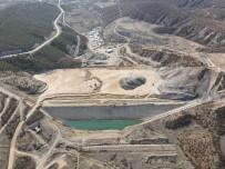 Amasya Aydınca Barajı'nda Çalışmalar Devam Ediyor