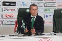 Giresunspor Kulüp Başkanı Hakan Karaahmet Açıklaması 'Giresunspor'un Bütün Sorumluluğu Bana Ait'