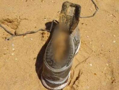 Kayıp dolandırıcının çürük ayağı sahile vurdu!