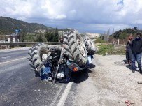 Altınözü'nde Traktör Devrildi Açıklaması 2 Yaralı