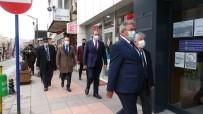 CHP Ekonomi Masası Heyeti Çankırı'da İş Adamlarıyla Bir Araya Geldi