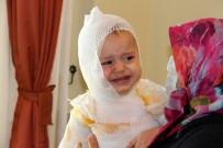Erzincan'da Üzerine Kaynar Süt Dökülen Çocuk Hastanelik Oldu