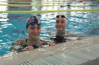 Eskişehir'in Rekortmen Yüzücüleri Sudem Denizli Ve Göksu Doğan Yeni Hedeflerine Hazırlanıyor