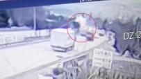 Kırıkkale'deki Feci Kaza Kamerada Açıklaması Karşı Şeride Havalandı, Lüks Otomobilin Üstüne Düştü