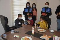 Minik Öğrenciler Cizre Emniyet Müdürlüğünü Gezdi