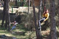 Yayladağı'na Zipline Parkuru Kuruldu