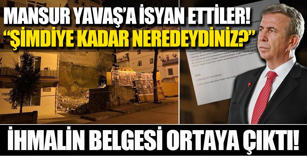 Ankara'da çökme riski bulunan bina yıkılıyor! 3 ay önce belediyeyi dilekçeyle uyardıkları ortaya çıktı