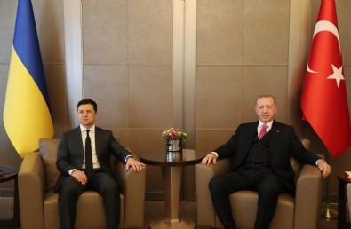 Başkan Erdoğan, Ukrayna Devlet Başkanı Zelenskiy ile ortak basın toplantısı düzenledi