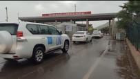 BM 75. Genel Kurul Başkanı Bozkır Cilvegözü'nden Suriye'ye Geçti