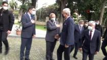 BM 75. Genel Kurul Başkanı Volkan Bozkır, Hatay Valiliğini Ziyaret Etti