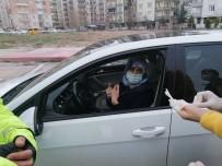 Çocukları Pozitif Olan Karantinadaki Kadın İşe Giderken Yakalandı